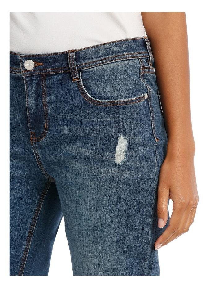 Jean Slim Leg With Double Hem image 4