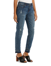 Grab - Jean Slim Leg With Double Hem