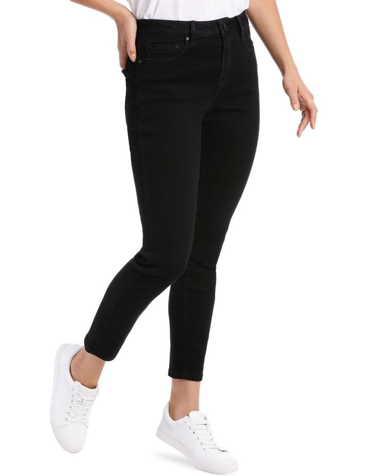 Melrose Mid Rise Skinny Jean Short Leg image 2