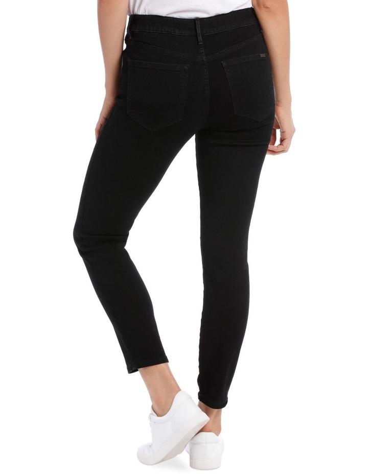 Melrose Mid Rise Skinny Jean Short Leg image 3