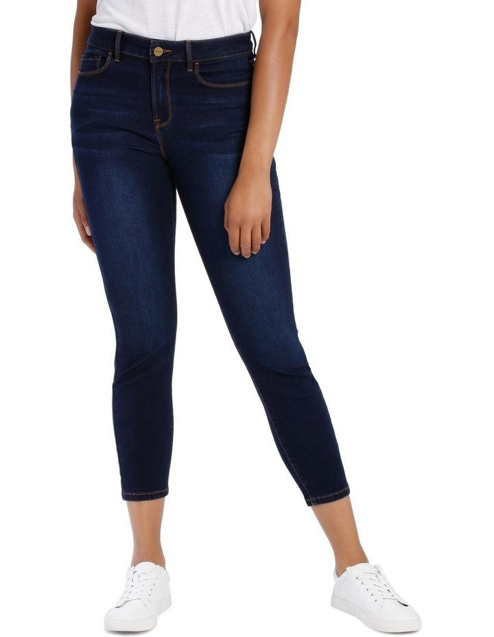Melrose Mid Rise Skinny Jean Short Leg image 1