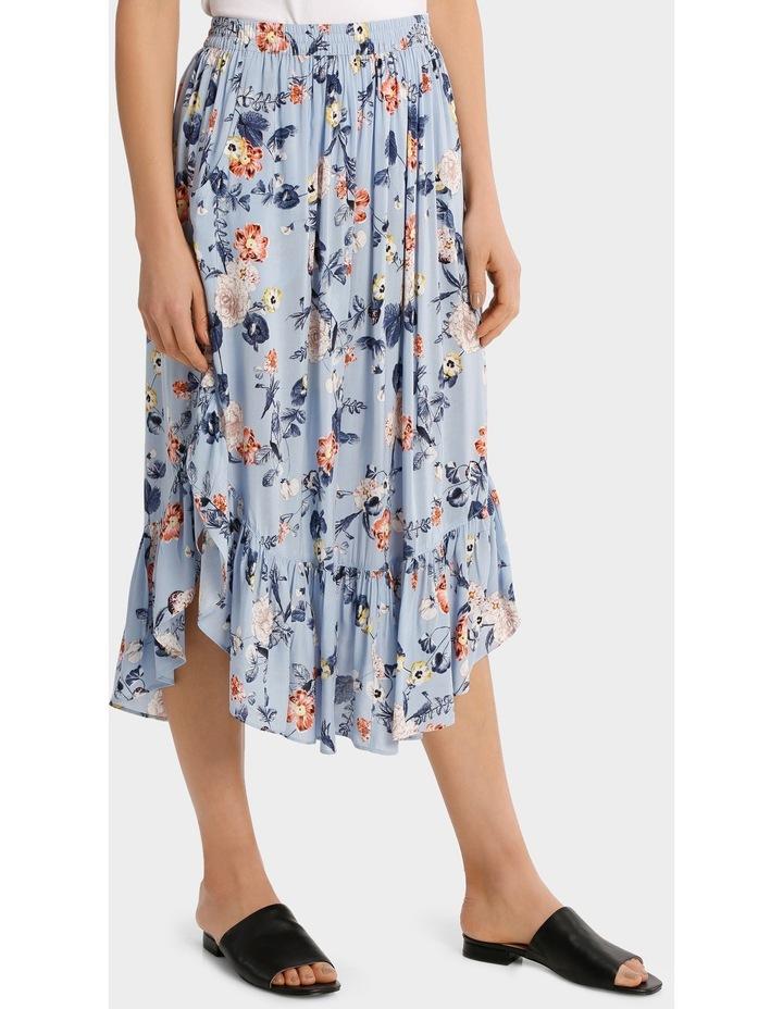 Skirt long print image 2