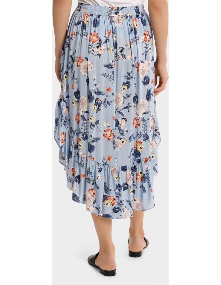 Skirt long print image 3