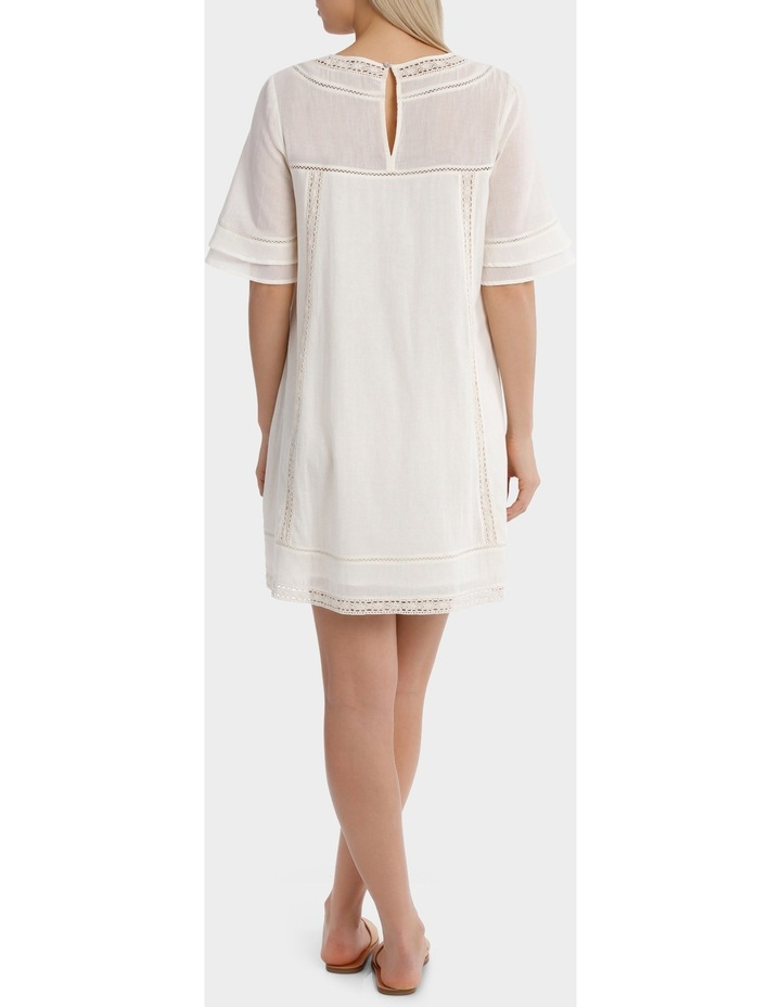 Crew Neck Embroidered Dress image 3