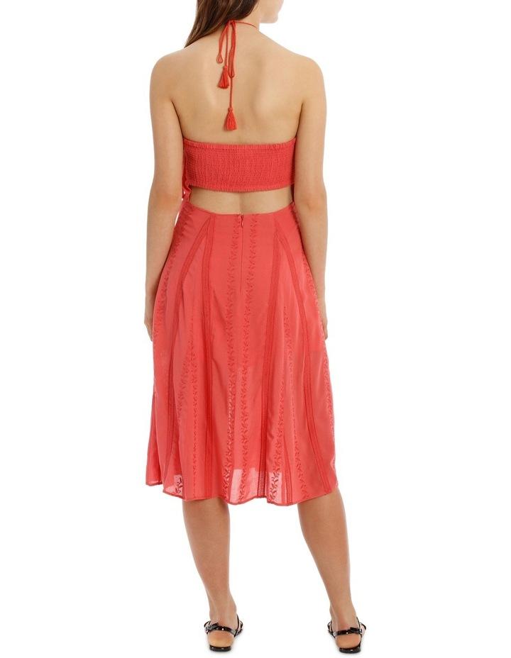 Halter Midi Dress image 3