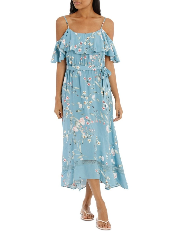 Dress Maxi with lace inserts image 1