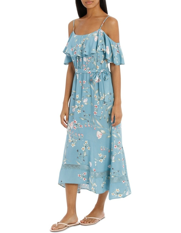 Dress Maxi with lace inserts image 2