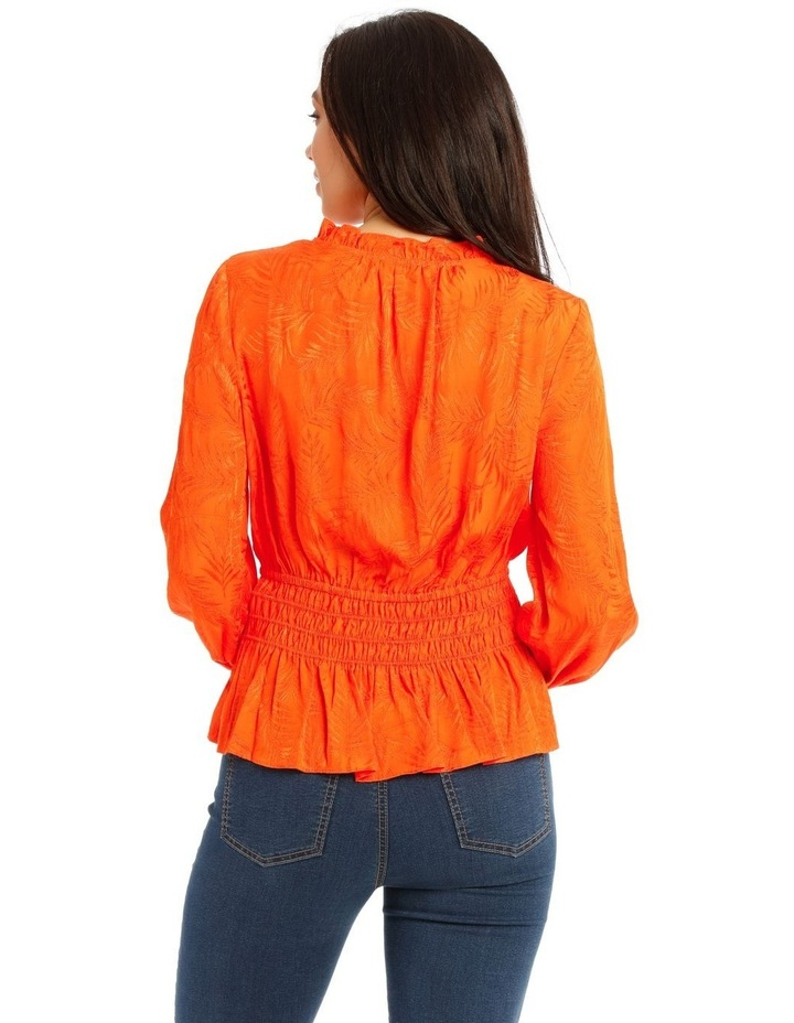 Top With Shirred Waist Detail image 3