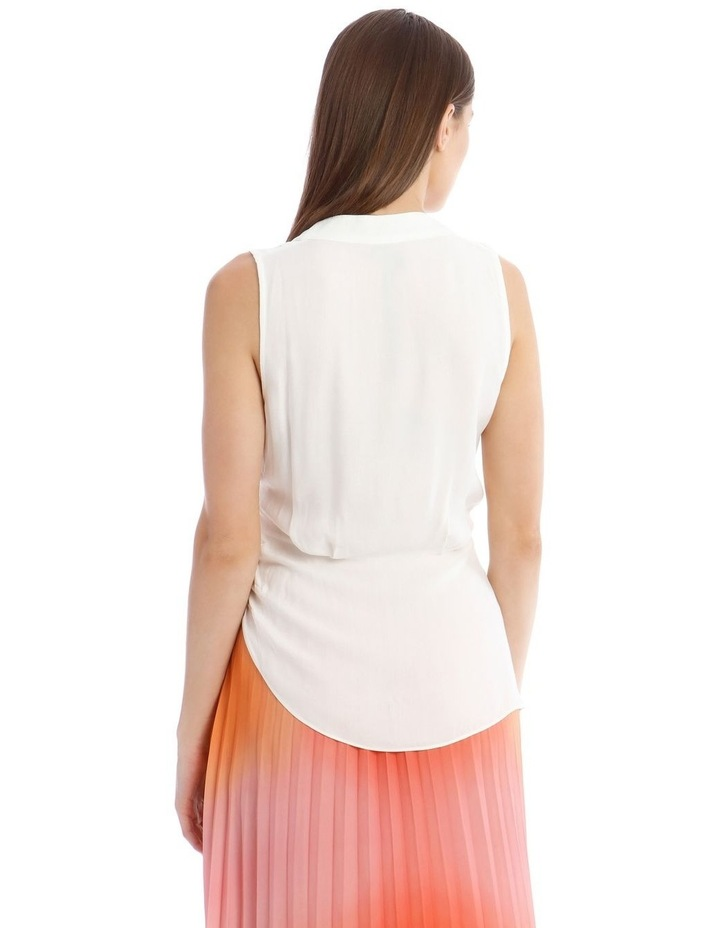 Sleeveless Top With Wrap Detail image 3