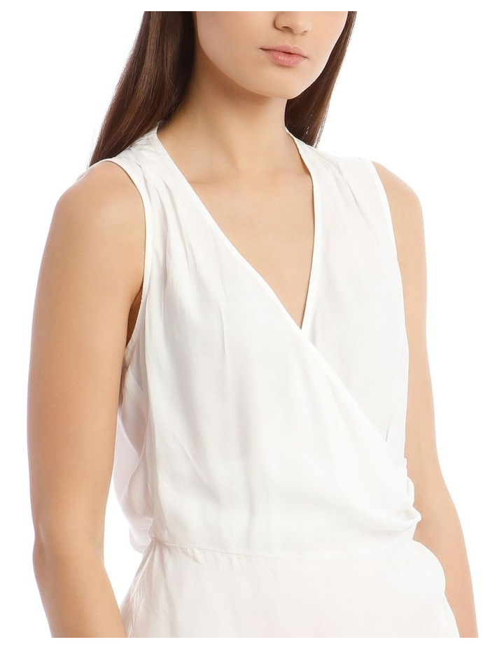 Sleeveless Top With Wrap Detail image 4