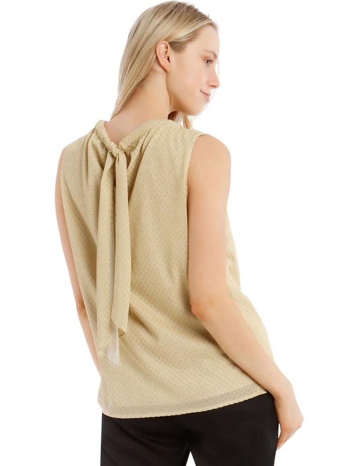 Sleeveless Tie Back Top image 3