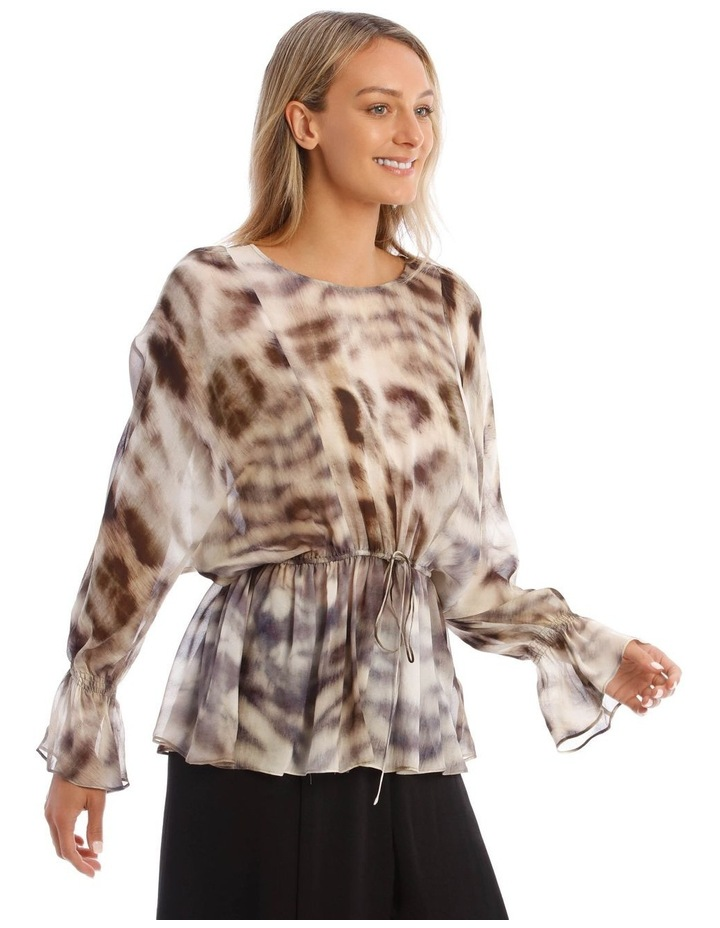 Giraffe Spotted Woven Top image 2