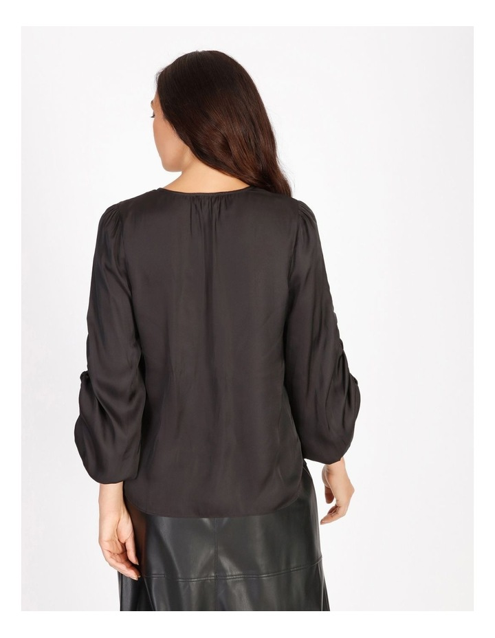 Ruched Long Sleeve Blouse image 4