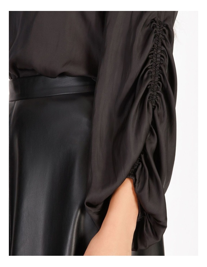 Ruched Long Sleeve Blouse image 5