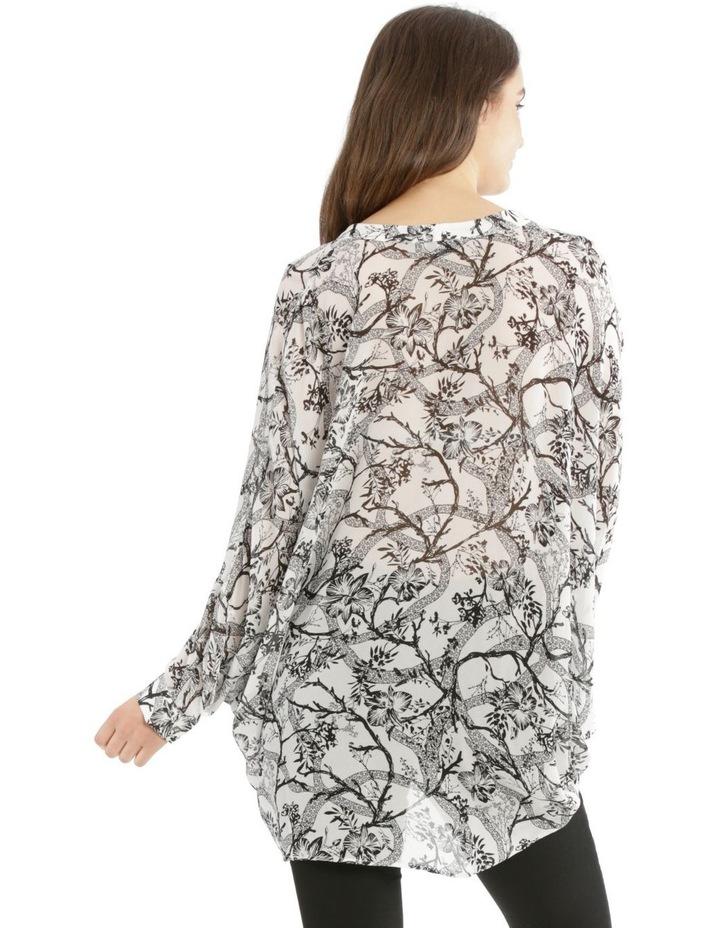 Trailing Printed Batwing Shirt image 3