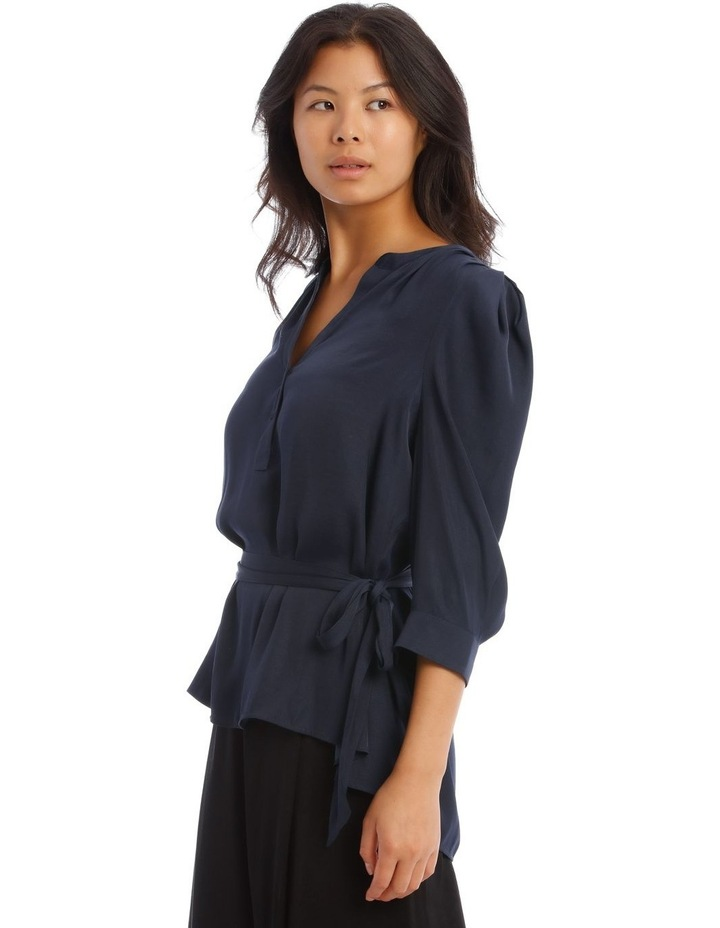 Button Through Shirt With Tuck Sleeve image 2