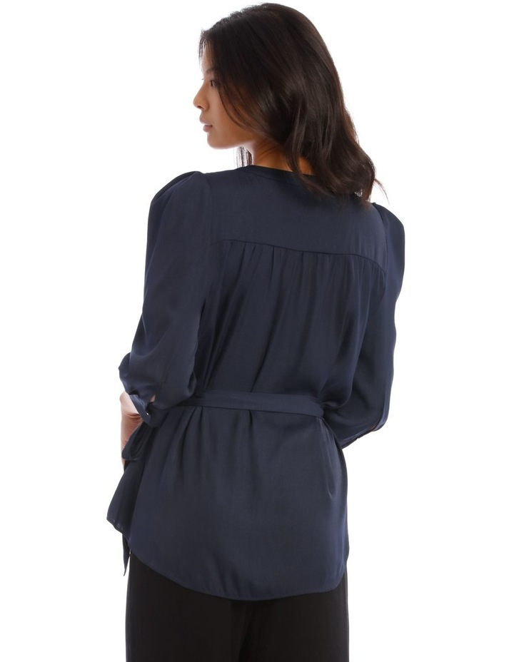 Button Through Shirt With Tuck Sleeve image 3
