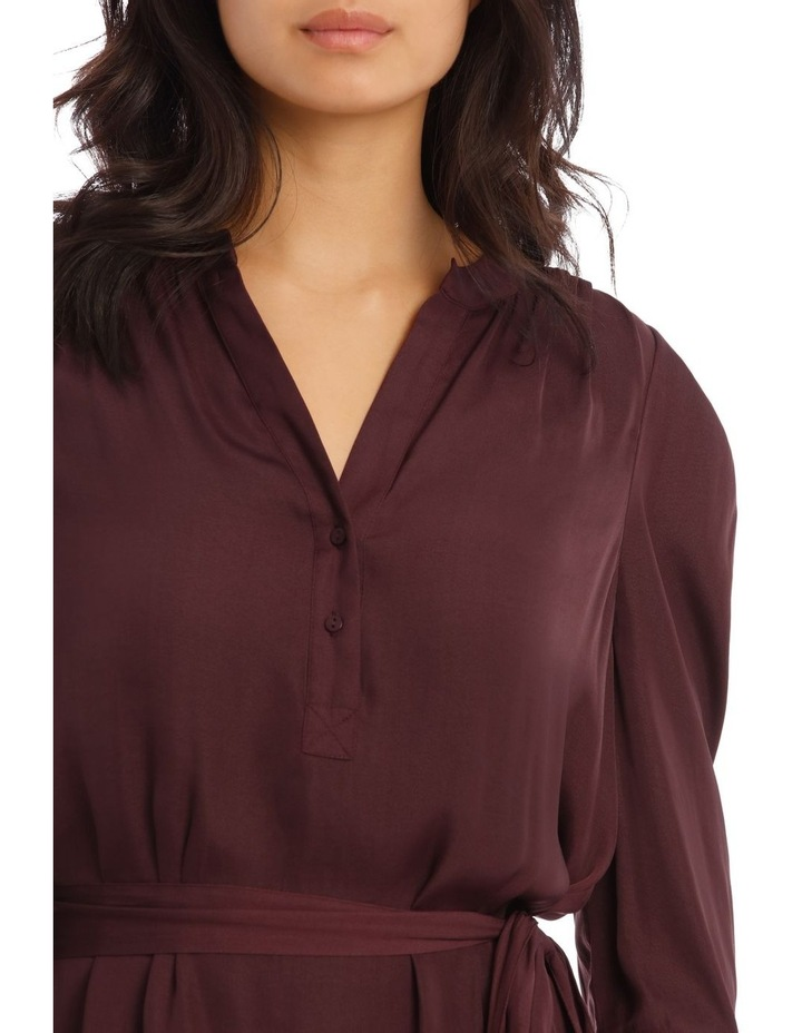 Button Through Shirt With Tuck Sleeve image 4