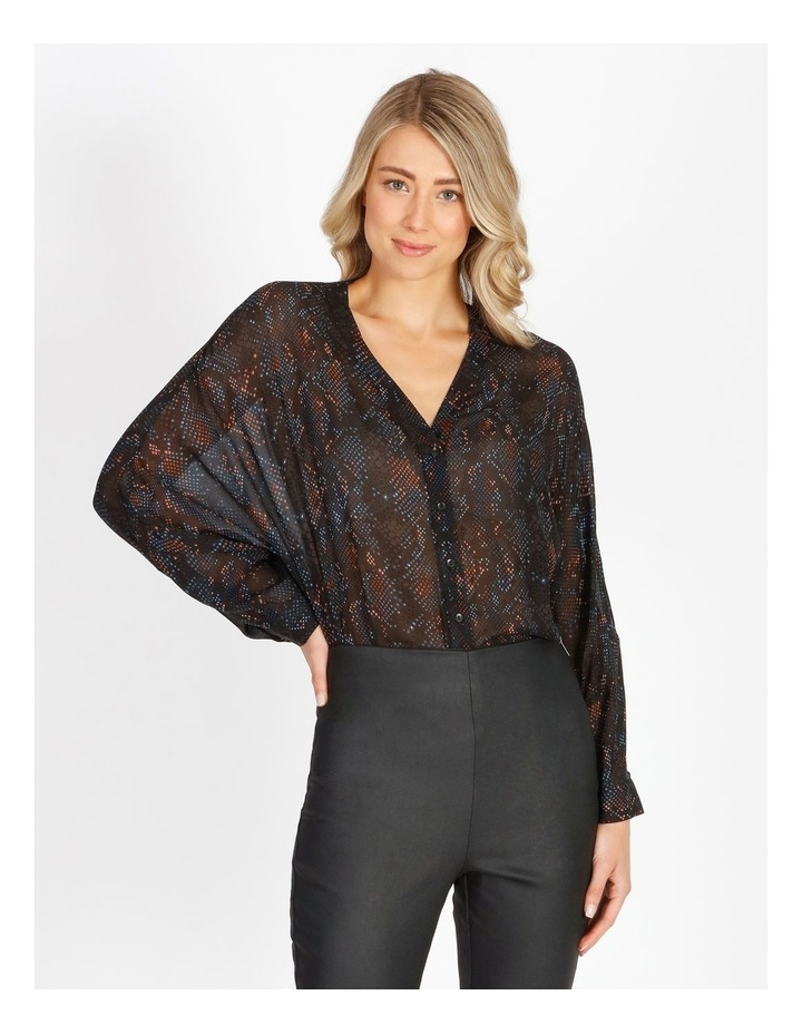 Oversized Batwing Shirt image 1