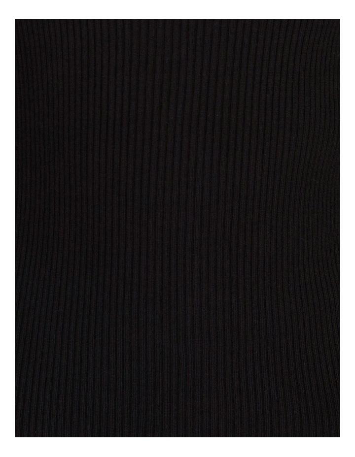 Asymmetrical Neck Rib Jumper image 5