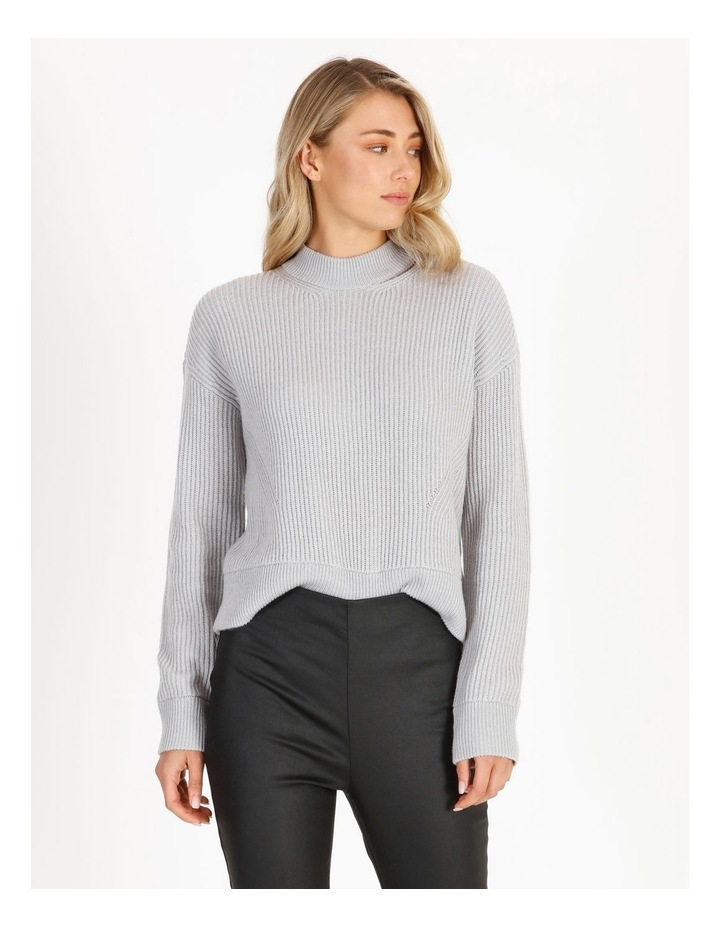 Cut-Out Neck Knit Jumper image 1