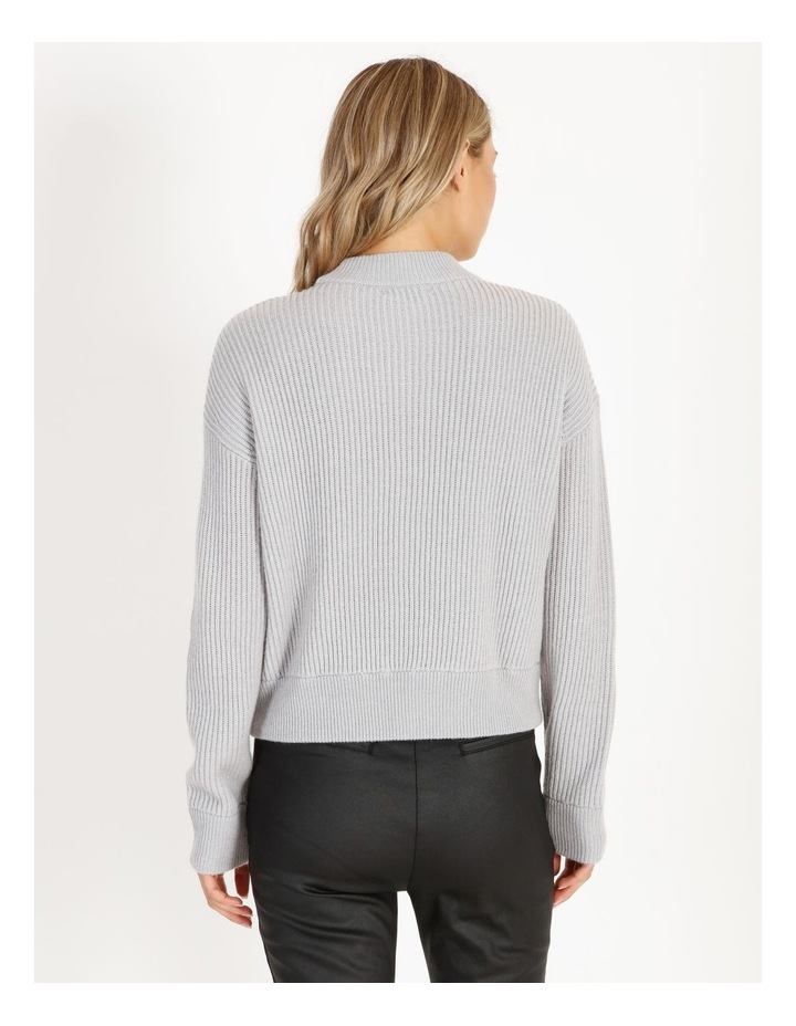 Cut-Out Neck Knit Jumper image 3