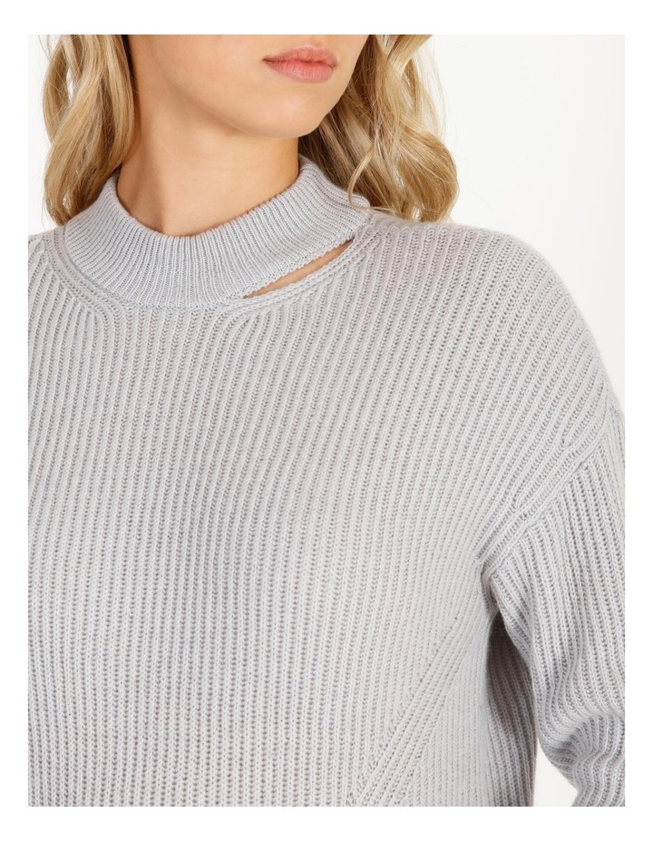 Cut-Out Neck Knit Jumper image 4