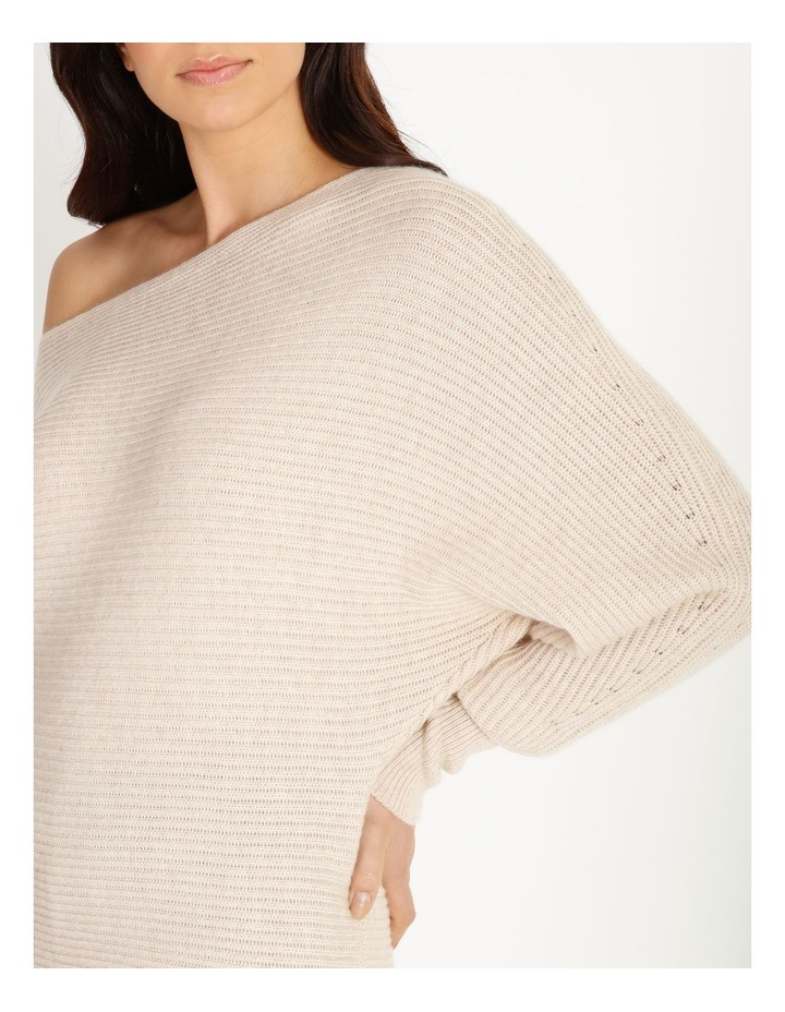 Off Shoulder Rib Knit image 5