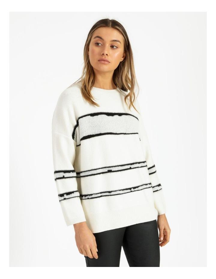 Stripe Oversize Jumper image 1