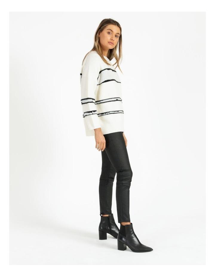 Stripe Oversize Jumper image 2