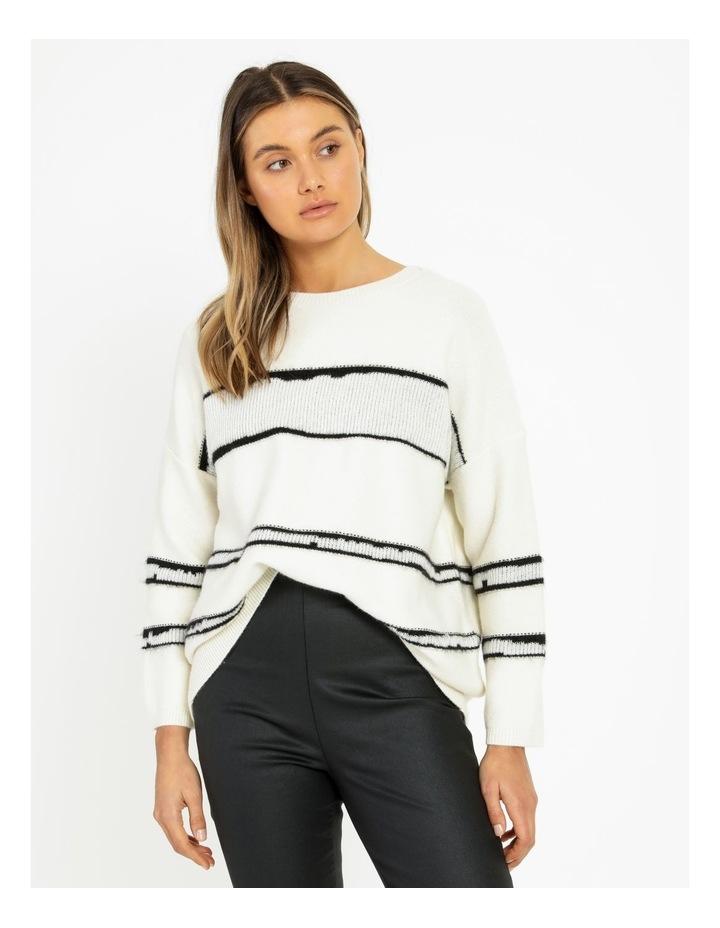 Stripe Oversize Jumper image 3