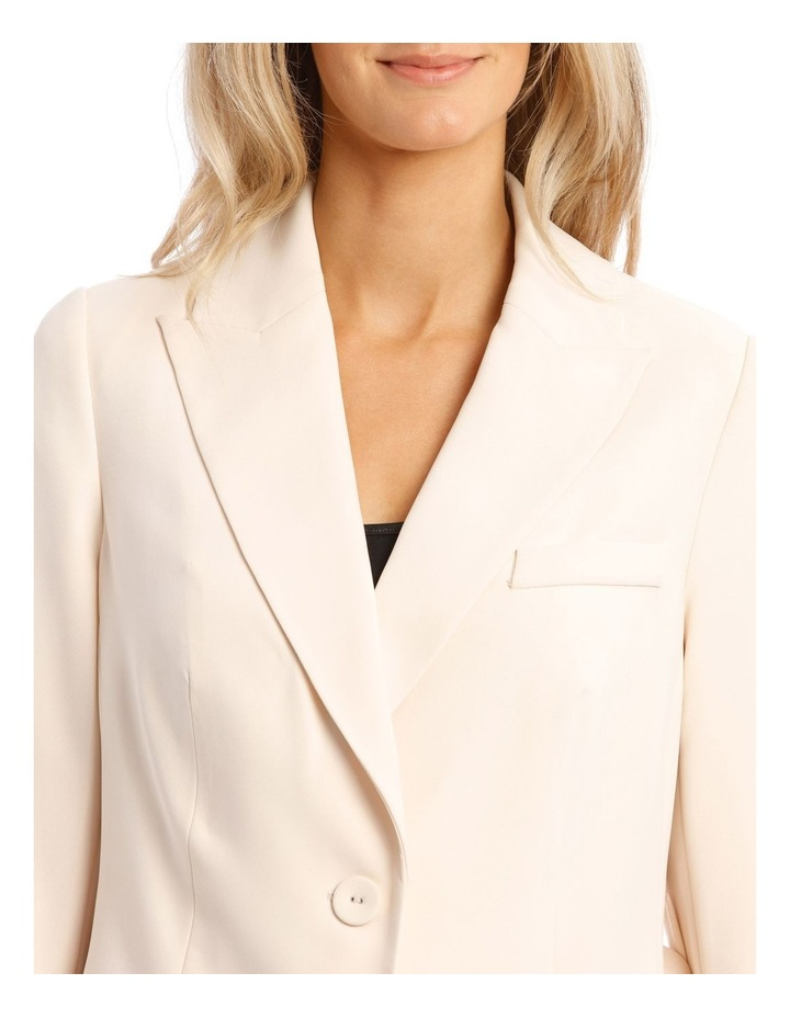 Cream Belted Jacket image 4