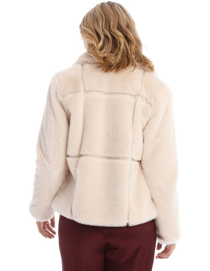 Quilted Fur Jacket image 3