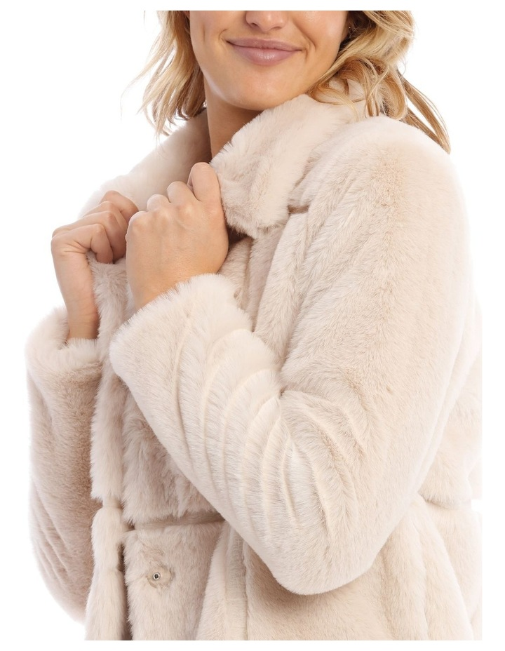 Quilted Fur Jacket image 4