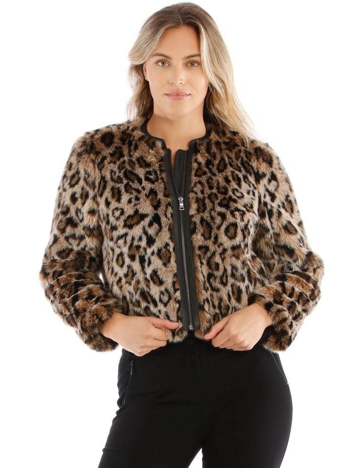 Animal Fur Bomber image 1