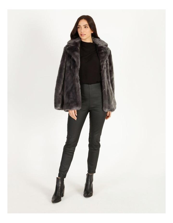 Grey Fur Coat image 1