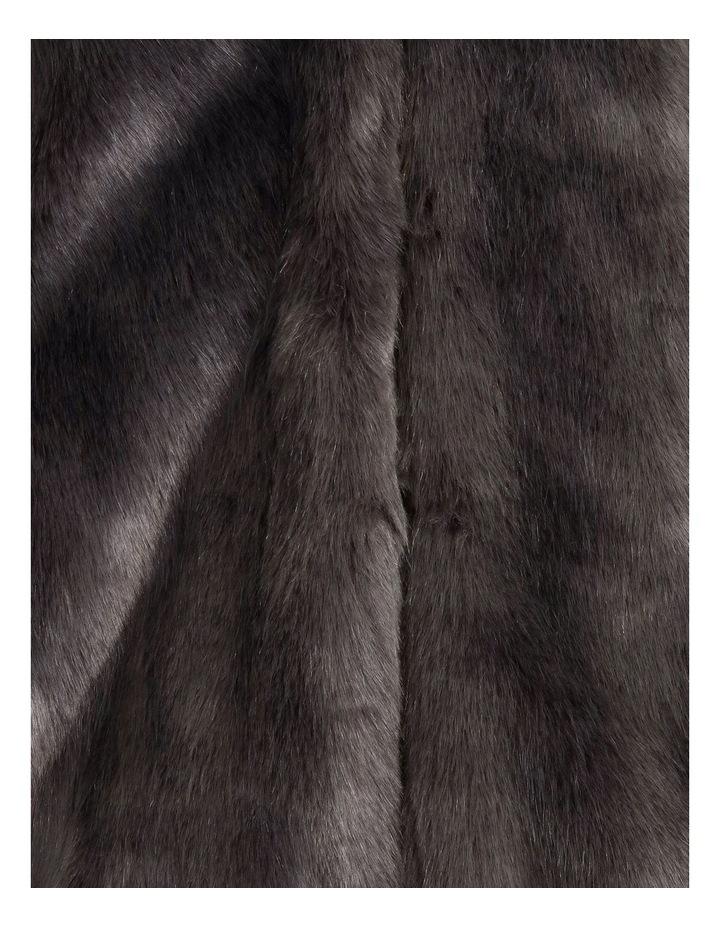 Grey Fur Coat image 6