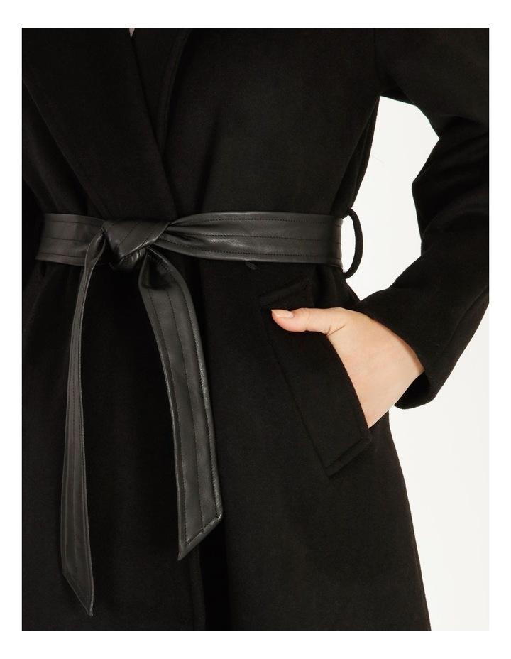 Pu Collar Coat image 4
