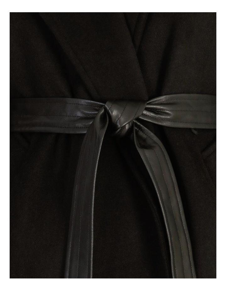 Pu Collar Coat image 5