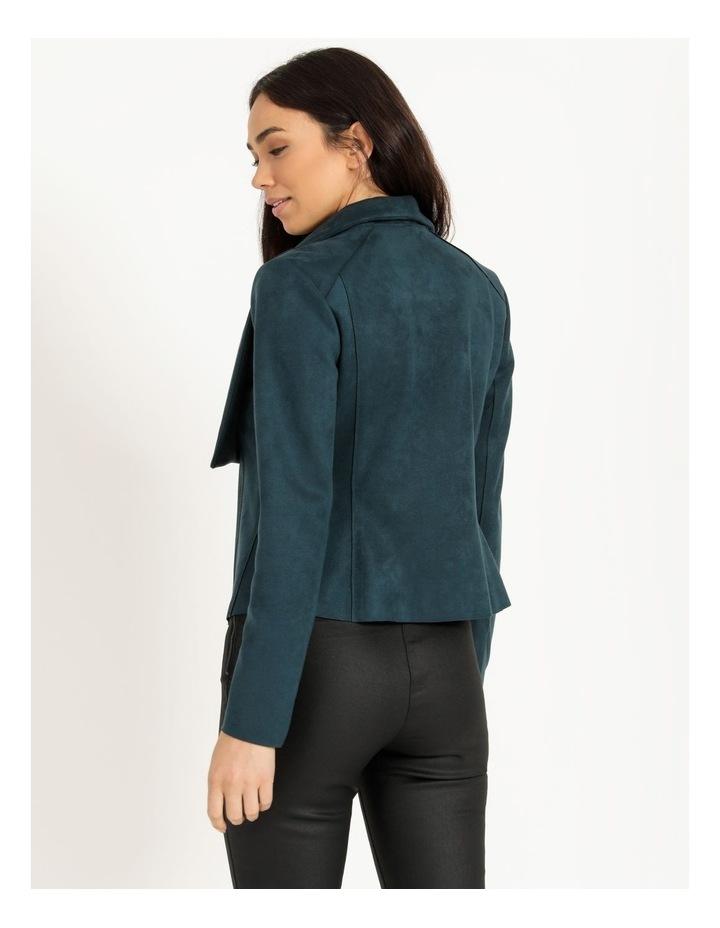 Suedette Drape Front Jacket image 3