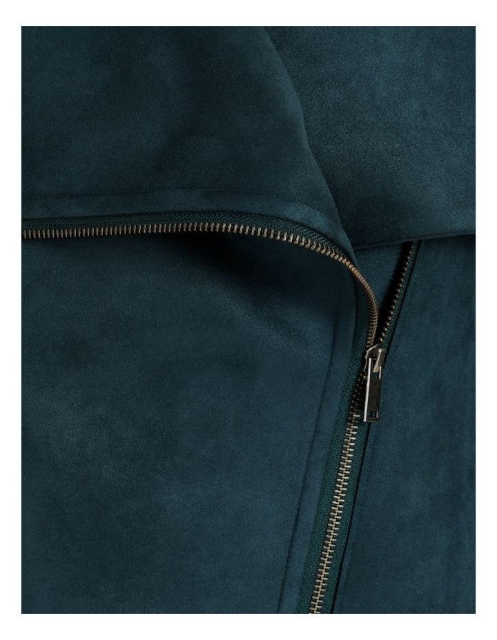 Suedette Drape Front Jacket image 6