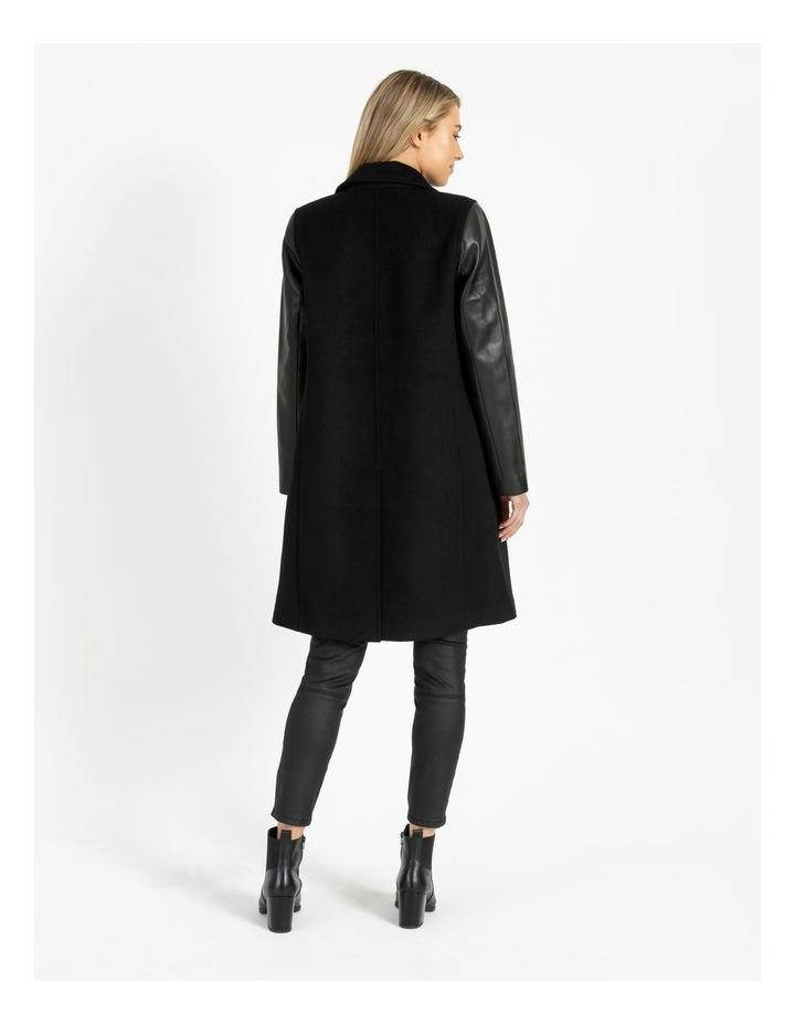 Pu Sleeve Coat image 4