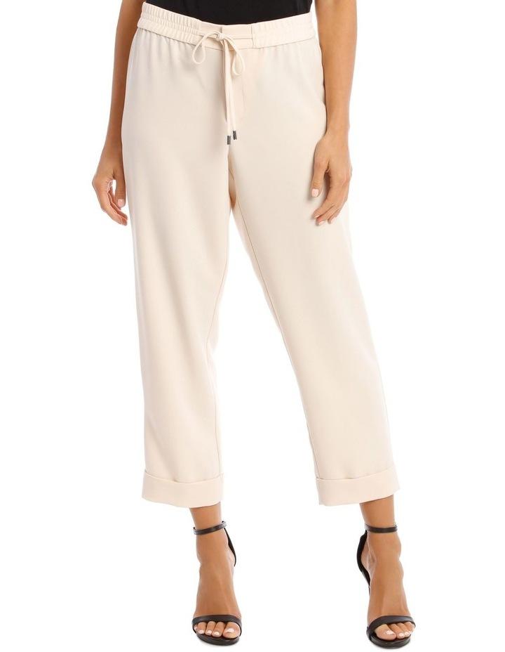 Drawstring Suit Pant image 1