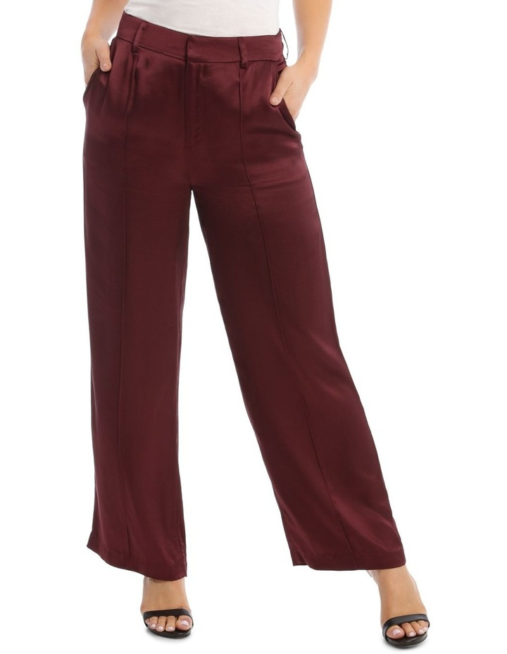 Front Pleated Wide Leg Pant image 1