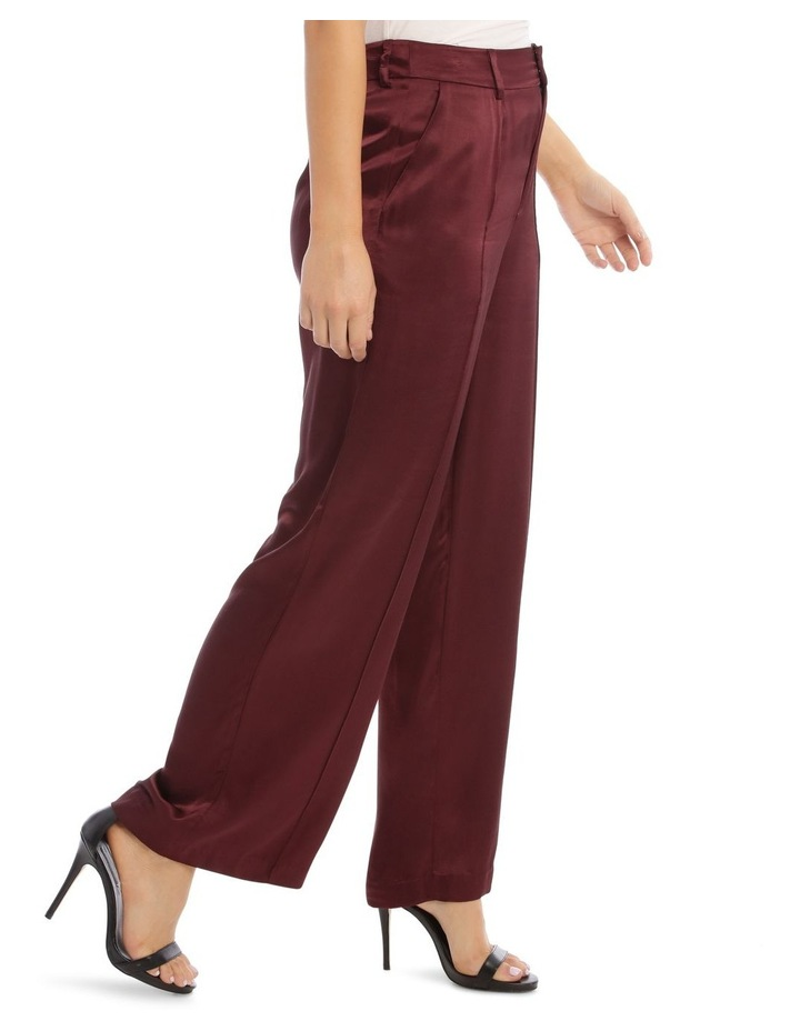 Front Pleated Wide Leg Pant image 2