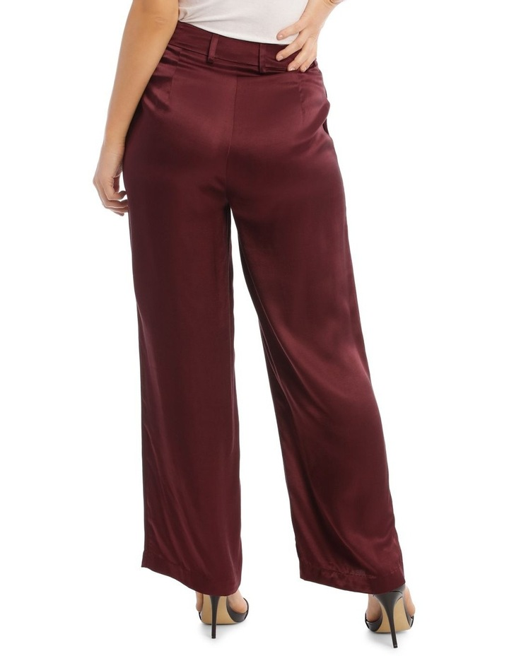 Front Pleated Wide Leg Pant image 3
