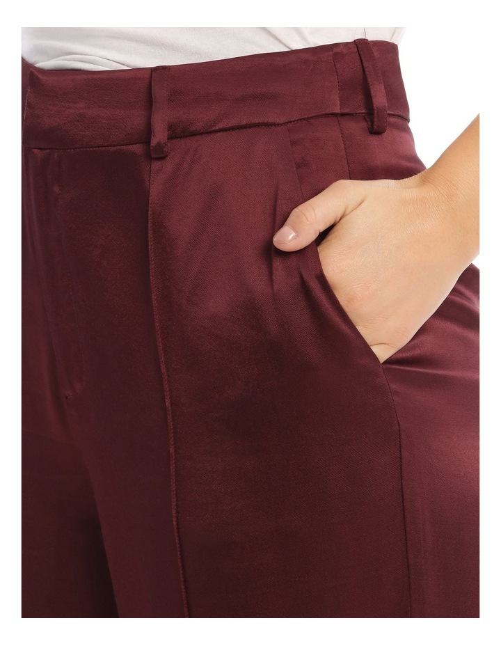 Front Pleated Wide Leg Pant image 4