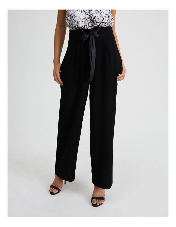 Wide Leg Pant With Tie image 1