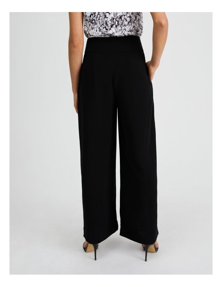 Wide Leg Pant With Tie image 3