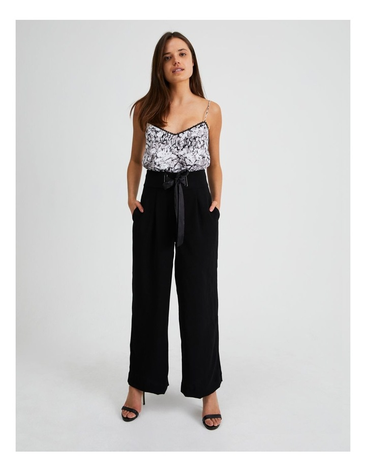 Wide Leg Pant With Tie image 4
